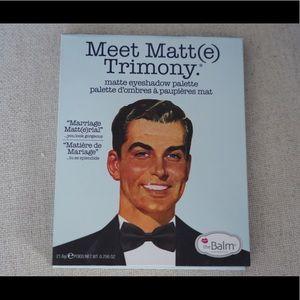 The Balm Meet Matt Eyeshadow Pallet